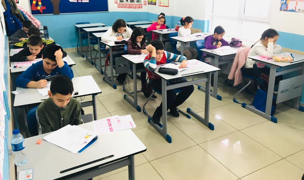 Ortaokul Bursluluk Sınavı Tamamlandı.